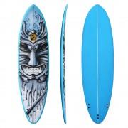 "6'8"" Samurai blue funboard Cheap Surfboard Sydney - Shogun Surfing Surf Shop Sydney"