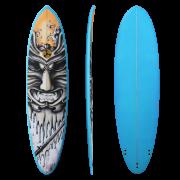 """Shogun Surfing - 7'6"""" Fun Minimal Surfboard - Samurai"""