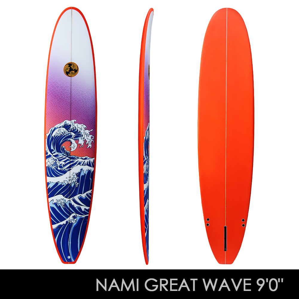 9 0 Longboard Nami Surfboard By Shogun Surfing