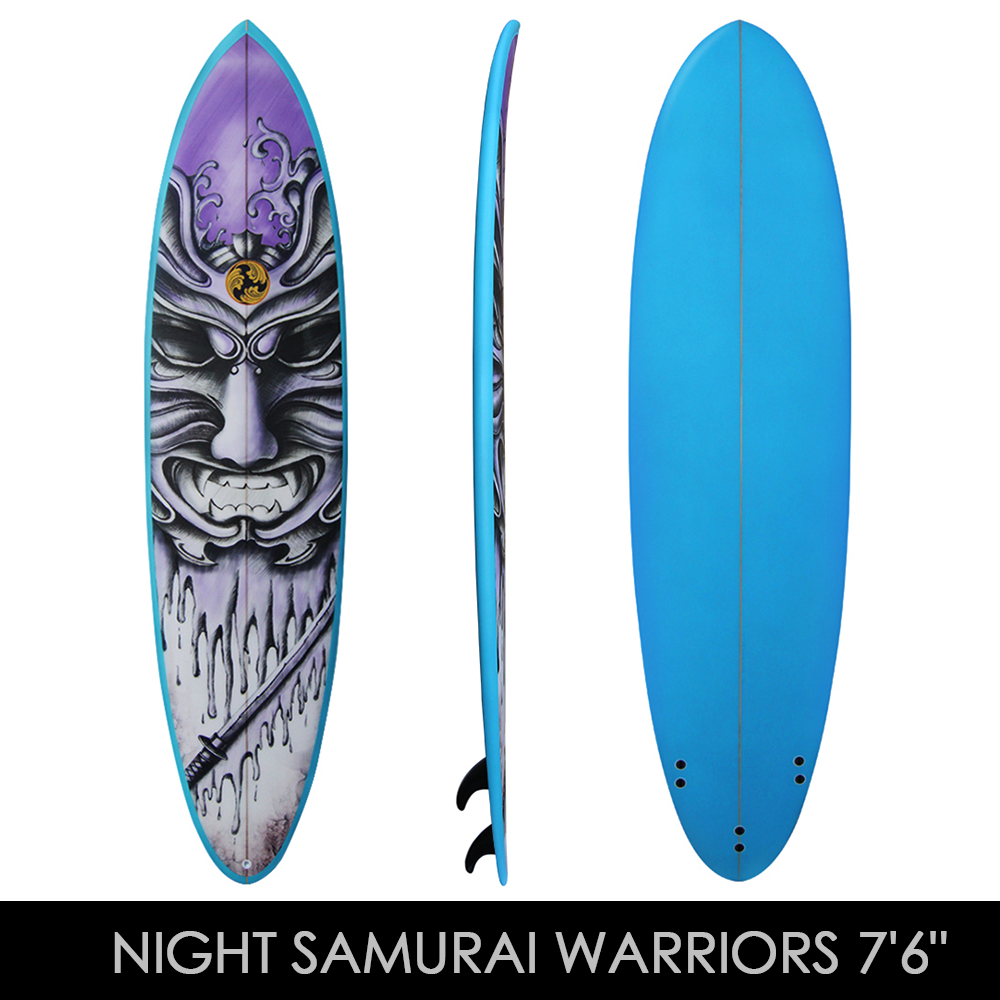 Night Samurai Warrier - Fun board - www.shogunsurfing.com.au 8346be32d3f1
